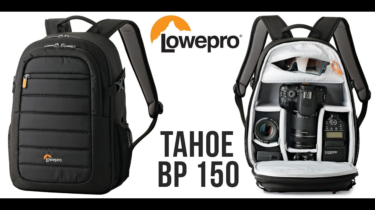 e668be97106 In-Depth Review of the Lowepro Tahoe BP 150 Camera Backpack - YouTube