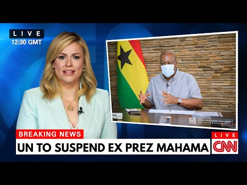 UN Petition to Suspend Mahama for Breeding Wαr in Ghana!