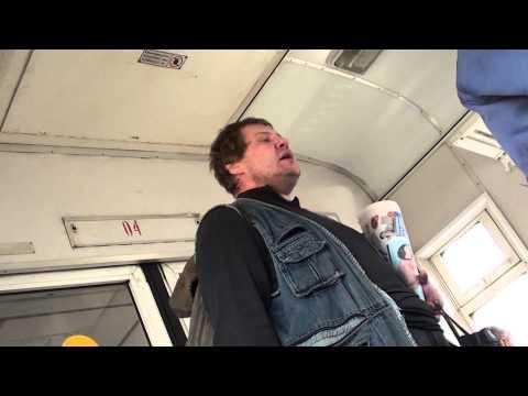 комсомольская правда в электричке. Владивосток-Партизанск/paperboy In Electric Train