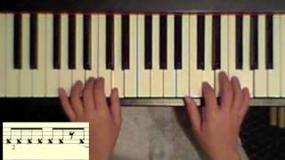 How to play a Salsa montuno (tumbao) on the piano - tutorial #2