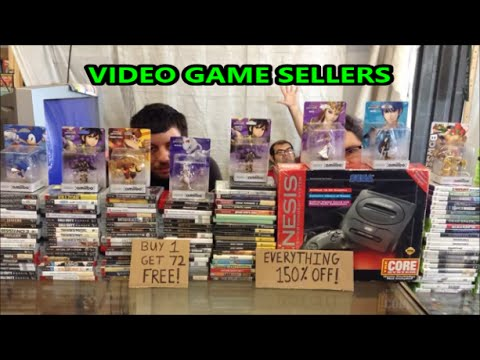 VIDEO GAME SELLERS EP. 109 - BLACK FRIDAY SALES | Scottsquatch