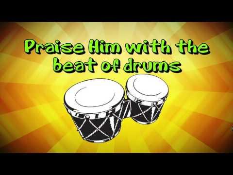Praise Him! (Psalm 150) (Lyric Video) | Kidz Under Construction