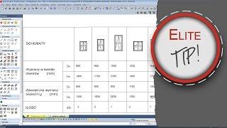 EliteCAD 3D BIM - Dach naczółkowy / half hipped roof / Kruppelwalmdach