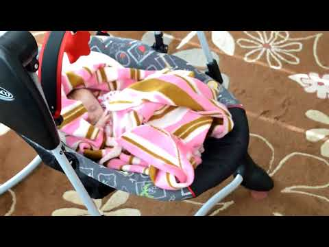 Review: Graco Swing By Me 2 in 1 Portable Baby Swing