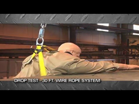 Wire Rope vs. Rigid Lifelines Fall Protection - YouTube