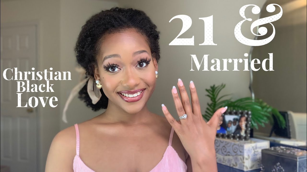 MARRIED AT 21! 💍🎀 ✝️ Advice & Experience | Wife Diaries! | Ebony Nikita