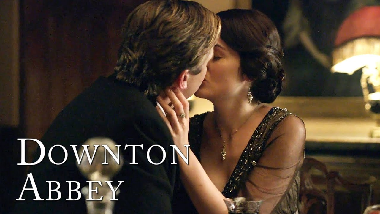 Download Matthew and Mary's First Kiss | Downton Abbey