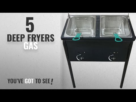 best-deep-fryers-gas-[2018]:-bioexcel-outdoor-two-tank-fryer-compatible-with-propane-gas-tanks,