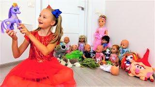 Los juguetes huyeron de Polina