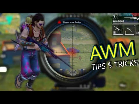 Free Fire AWM tips and tricks full practice , how to fast reload awm