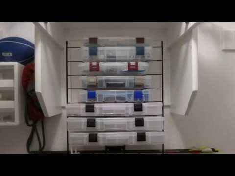 Fishing tackle organization youtube for Fishing tackle organization