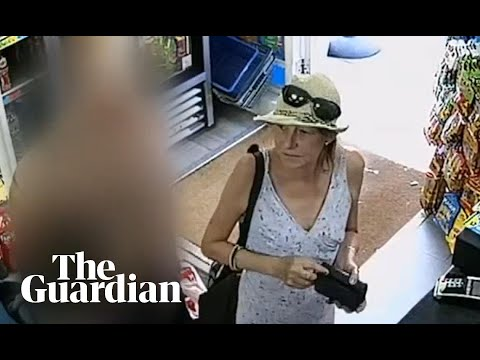 CCTV footage shows novichok victim day before attack
