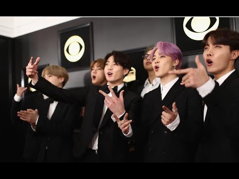 BTS Best Funny and Reaction Moments at Grammy's 2019