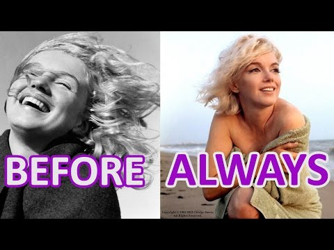 Women And Time: #Marilyn #Monroe.  BEFORE And ALWAYS