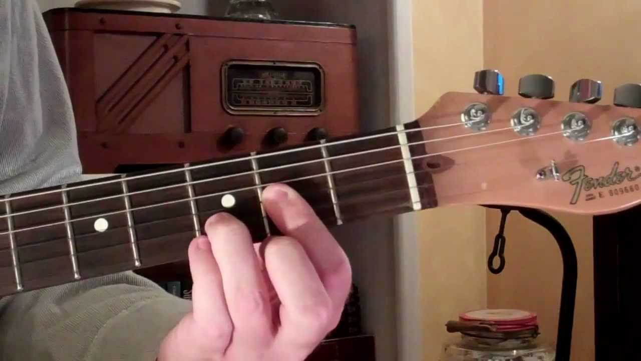 How To Play A Dc Chord On Guitar Lesson Youtube