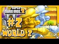 New Super Mario Bros. 2 - World 2 (1/2) (2 Player) 100%