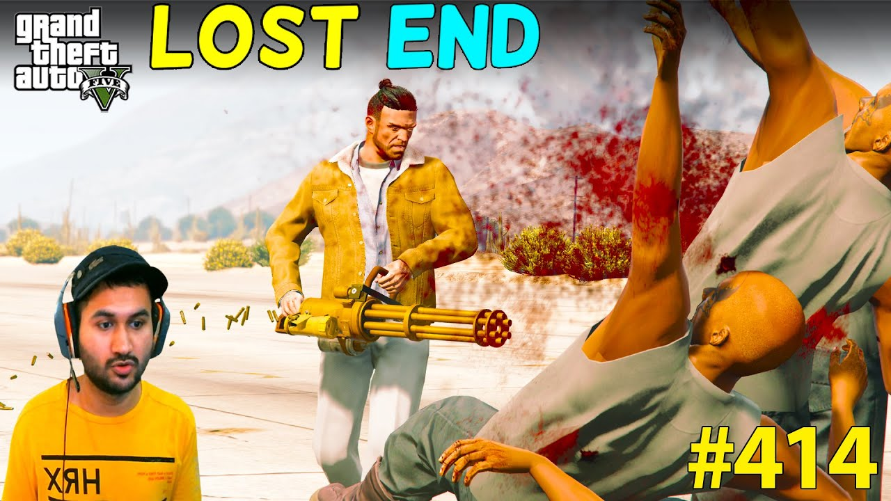 GTA 5 : THE END OF LOST GANG AGAIN FOR THE DEVICE | GTA V GAMEPLAY #414