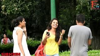 GIRL Asking- o कहाँ  मिलेगा ??(  KAHA  MILEGA),Pranks in India,!FUNKY TV! thumbnail