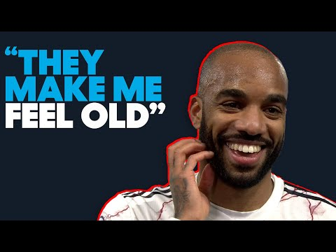 """Lacazette: """"Arsenal players make me feel old!"""" 