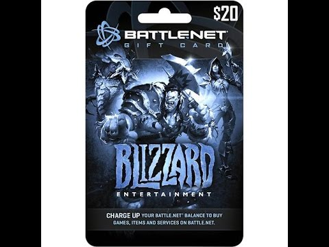I'm back! $20 Blizzard Battlenet Gift Card Give Away! - YouTube
