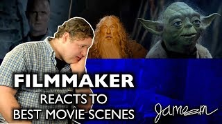 FILMMAKER REACTS to BEST MOVIE SCENES | Star Wars | Lord Of The Rings | The Rock | James Martin