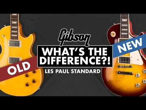 new-gibson-les-paul-standards-(50s/60s)-|-whats-new?!