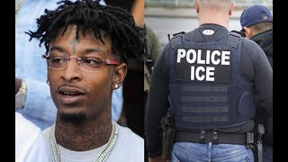 21 Savage ARRESTED by ICE, May Be DEPORTED to the UK
