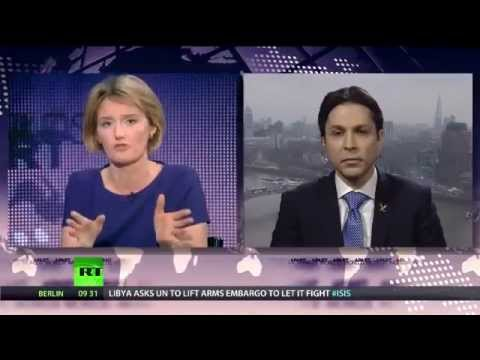 Ribal Al Assad's interview with Russia Today 'RT'   Worlds Apart