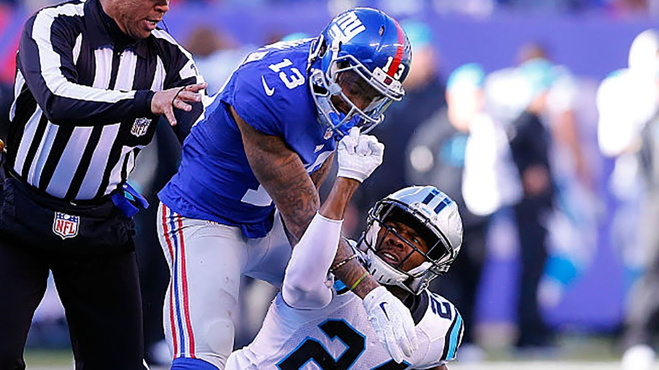 Top 5 Craziest Nfl On Field Fights Youtube