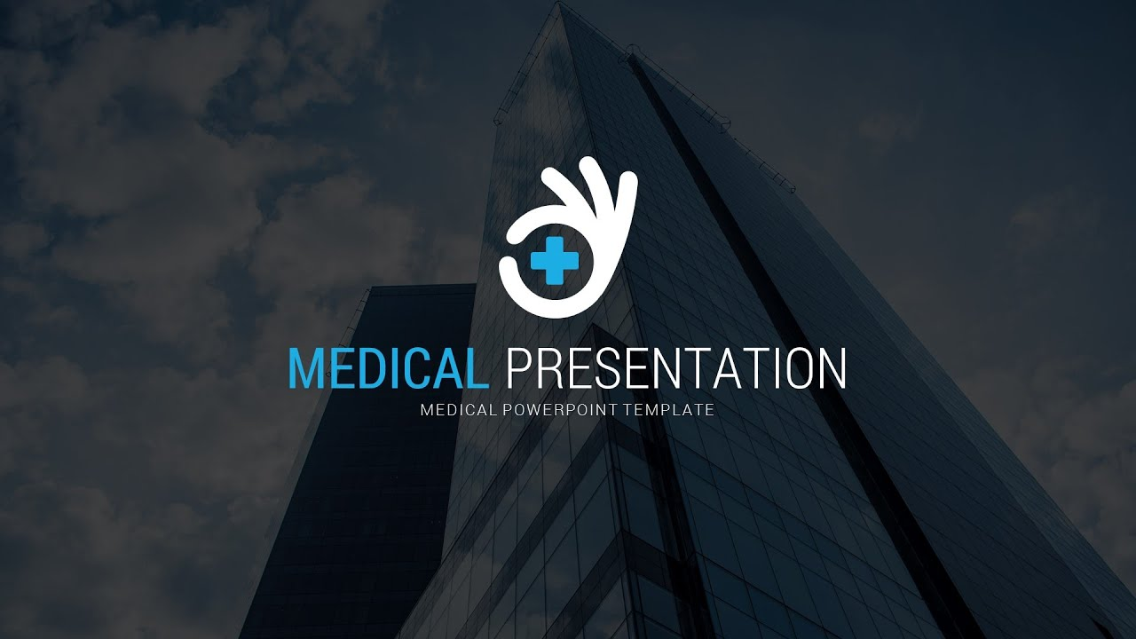 medical powerpoint template - youtube, Modern powerpoint