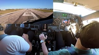 Gulfstream G-IV Full Flight Engine Start to Shutdown KFXE-KPBI - Pilot VLOG 53