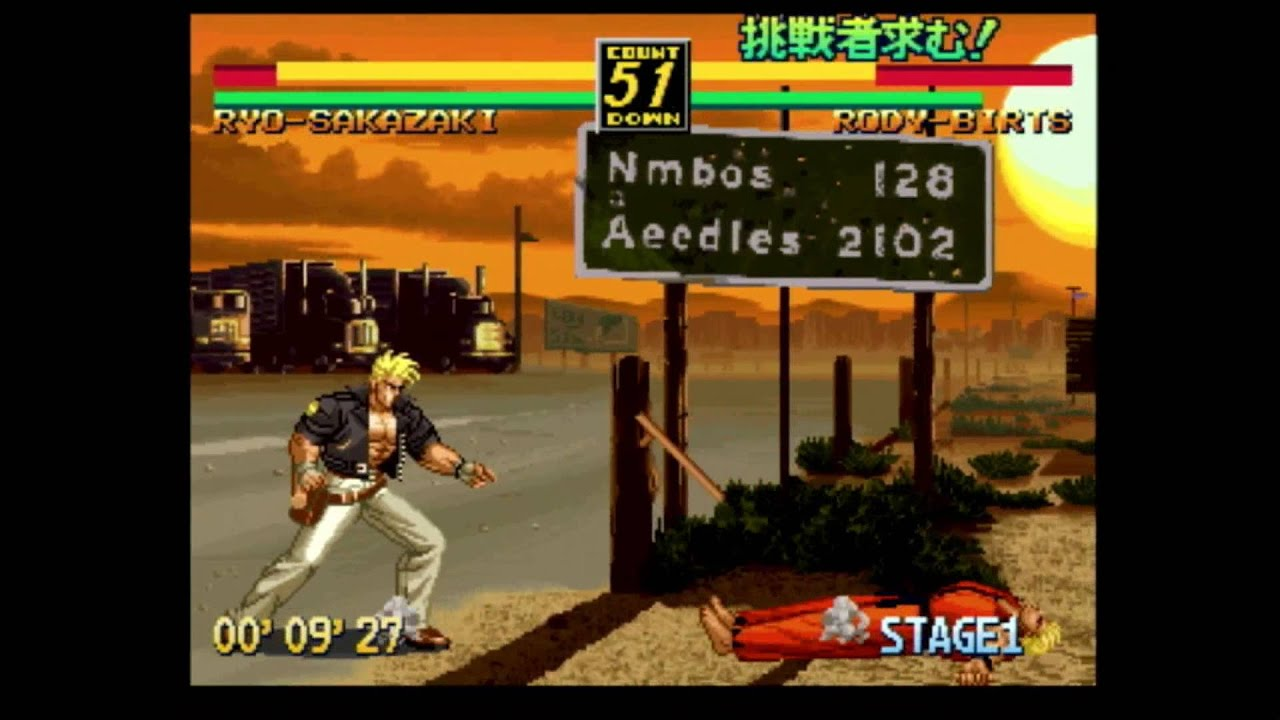Classic Game Room Art Of Fighting 3 For Neo Geo Cd Review Youtube