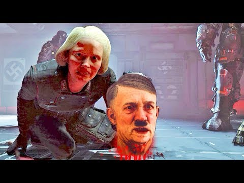 Wolfenstein 2 The New Colossus : Hitler's Most EPIC Scene in Gaming |