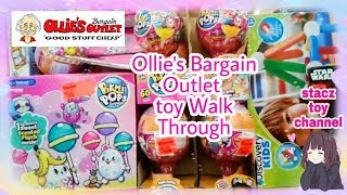 Ollie's Bargain Outlet Toy Walk Through