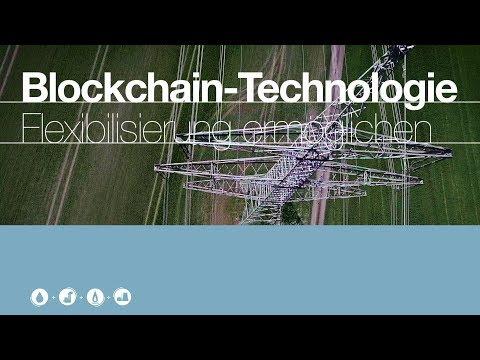 Flexibilisierung im Stromnetz ermöglichen - Blockchain-Technologie