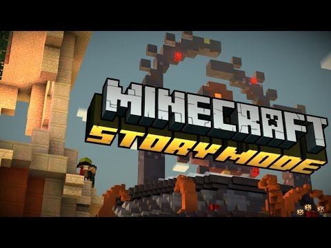 MINECRAFT Story Mode EPISODE 2 - ALTERNATIVE CHOICES PART 1 - WELCOME TO REDSTONIA