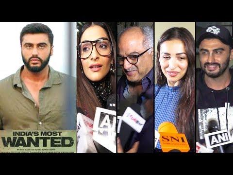 Bollywood Celebrities Review Of India Most Wanted Movie - Sonam Kapoor,Arjun Kapoor,Malaika,Boney Mp3