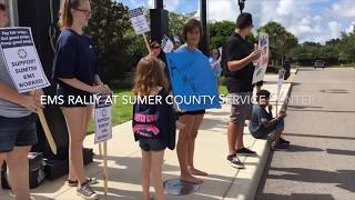 Video EMS Rally at Sumter County Service Center download MP3, 3GP, MP4, WEBM, AVI, FLV September 2018
