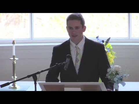 Chapel Service at Cardigan Mountain School, May 12, 2016
