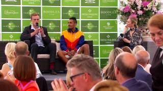 Nick Kyrgios and Josh Berry Impressions at Boodles 2016