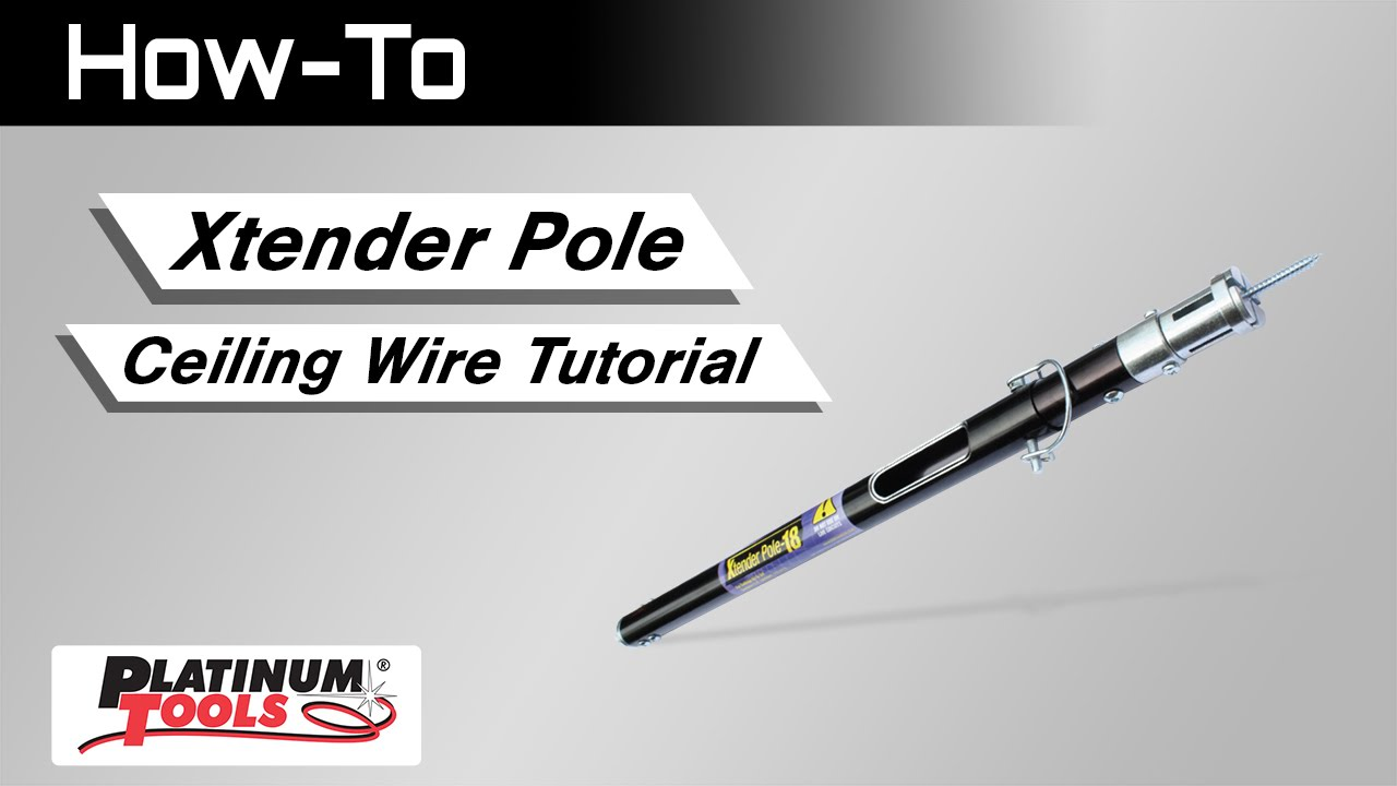 How-To: Xtender Pole Ceiling Wire Tutorial - YouTube