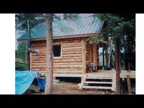 Log cabin floor plans alaska