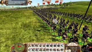 Empire Total War: Gameplay Russia vs USA [PC HD]