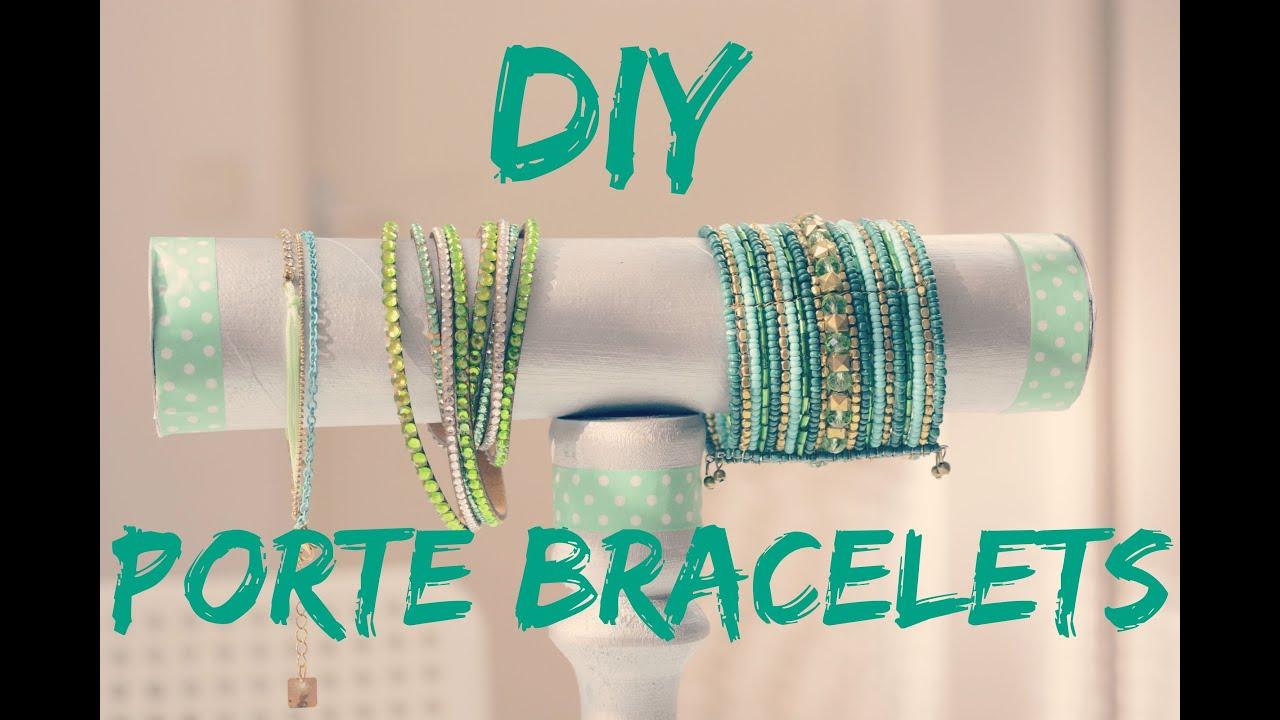 Diy N 2 Porte Bracelets Youtube