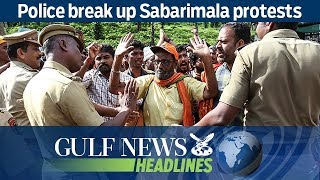 Police break up Sabarimala protests - GN Headlines