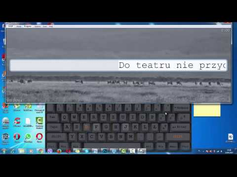 Учимся печатать на польском