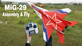 MiG-29 RC Plane assembly & fly │S-DiY rc