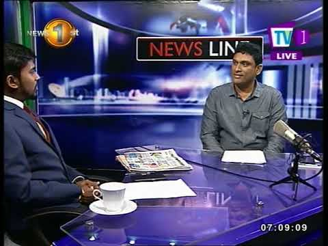 NEWSLINE TV1 The free trade agreements with Singapore