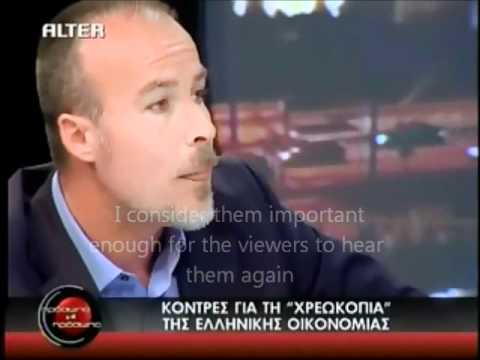 Nick Boyopoulos on greek situation