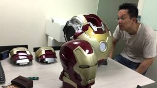 Iron Man Mark42 鋼鐵人胸像  1:1 Iron Man Mark 42 Unboxing